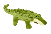 Dog Toy Tough Plush Gator at SaltyPaws.com