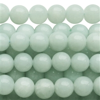 Chinese Amazonite round bead string