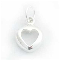 heart charm (hollow)