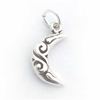 celtic moon charm / pendant