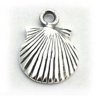 shell charm st. silver