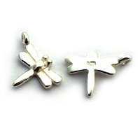 baby dragonfly charm st. silver