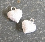 6mm puff heart stardust