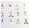 swarovski birth charm 4mm