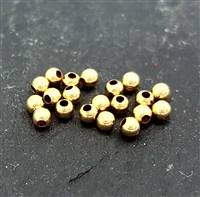 2mm gold filled bead (20 )