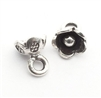 baby flower charm hilltribe silver
