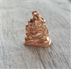 rose gold on sterling buddha charm