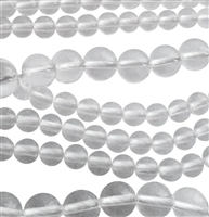 rock crystal round beads string