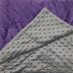 comfort weighted gravity blanket for Alzheimer's, Autism and Anxiety
