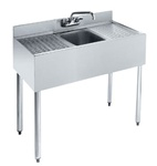 "Krowne UnderBar 1-Compartment Sink - 36"" Wide, (18-31C)"