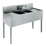 "Krowne UnderBar 2-Compartment Sink - 48"" Wide, (18-42C)"