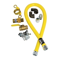 "JetForce 3/4"" Diameter x 48"" Long Gas Hose Kit, (32-1647)"
