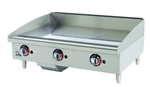 Star 636MF Countertop Gas Griddle - 36""