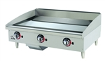 Star-Max 36-inch Chrome Gas Griddle, (636TCHSF)