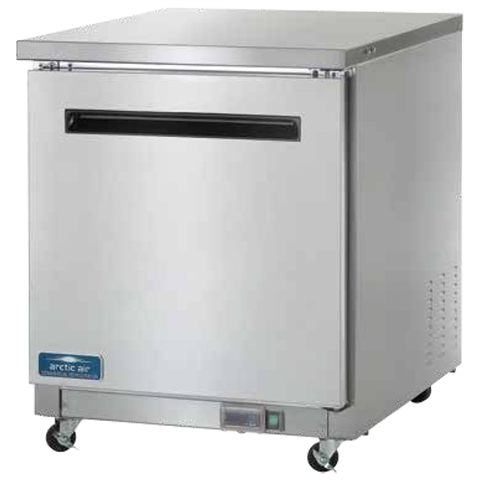 "Arctic Air AUC27F 28"" Undercounter Worktop Freezer"