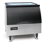 ICE-O-Matic 242-lb Capacity Ice Storage Bin, For use with Top-Mounted Ice Machines, (B25PP)
