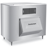 Scotsman 1400 Lb Capacity Ice Storage Bin - For use with Top-Mounted Ice Machines, (BH1300SS-A)