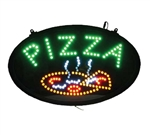 "Clearance Item - Winco Flashing LED ""Pizza"" Sign, (LED-11)"