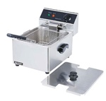 AdCraft Countertop Electric 15 Lb Fryer, (DF-6L)
