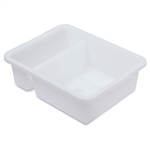 Royal Industries DIN-BTD00 Divided Bus Box - White