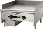 Wells 24 Inch Wide Manual Griddle HDG2430G