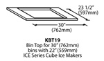 ICE-O-Matic KBT19 Ice Storage Bin Top Mounting Kit