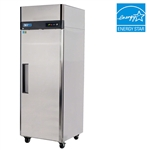 Turbo Air 29-Inch 24 Cu.Ft. (1) Door Reach-In Commercial Freezer with Top Mount Compressor, (M3F24-1)