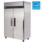 "Turbo Air M3R47-2 52"" 2-Door Reach-In Commercial Refrigerator"