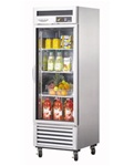 Turbo Air 27-Inch (1) Glass Door 23 Cu.Ft. New Maximum Commercial Refrigerator, (MSR-23G-1)