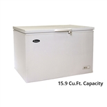 Atosa Solid Top Commercial Chest Freezer - 15.9 Cu. Ft. (MWF9016)