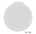 Winco PTRC-1C Round Storage Container Cover