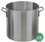 Royal ROY-RSPT-12-H Heavy Duty Aluminum Stock Pot - 12 Qt.