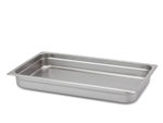 "Royal Heavy Duty Steam Table Pan - Full Size, 2.5"" Deep"