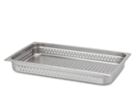 "Perforated Steam Table Pan - Full Size, 2.5"" Deep"