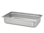 "Royal Industries ROY-STP-2004-P Full Size 4"" Deep Perforated Steam Table Pan"