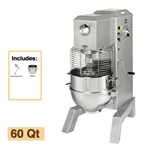 Univex SRM60+PM Floor Model Pizza Mixer