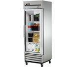 True 27-Inch (1) Glass Door 19 Cu.Ft. Reach-In Refrigerator, (T-19G-LD)