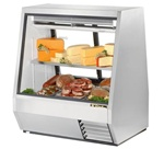 True TDBD-48-2 See-Thru Double Duty Refrigerated Deli Case