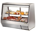 True TDBD-72-2 See-Thru Double Duty Refrigerated Deli Case