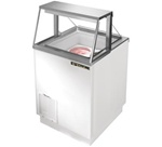 True 4.6 Cubic Feet Ice Cream Dipping Cabinet, Holds (4) 3-Gallon Cans, (TDC-27)