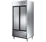 "True TSD-33 39.5"" (2) Sliding Doors Reach-In Refrigerator"