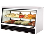 True 25 Cubit Feet Counter-Height Deli Case,  (TSID-72-3-L)