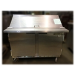 Used Beverage-Air SP48-12M Refrigerated Food Prep Table