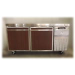 Used Continental DLRB67-SS 2-Door Worktop Refrigerator