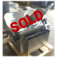 Used Globe 725 Automatic Meat and Cheese Deli Slicer