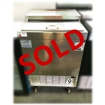 "Used Perlick 8340SSUL 20"" Glass Froster with Sliding Door"