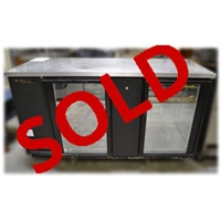 Used True TBB-3G Refrigerated Back Bar Cooler