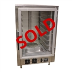 USED - Nu-Vu Pro-8 Tabletop Proofer Cabinet - 8 Pan Capacity with Heat and Humidity