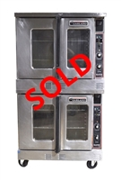 USED - Garland Double Stack Convection Oven - Master 200 Full-Size Standard Depth Natural Gas (U05496-MCO-GS-20-S)
