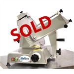 USED - Commercial Manual Meat and Cheese Slicer with 12 Inch Blade (Univex 6612M)